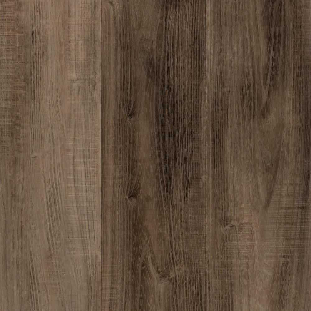Grey Cork Flooring Kitchen: Ombre Gray Hand Scraped Plank With Cork Back