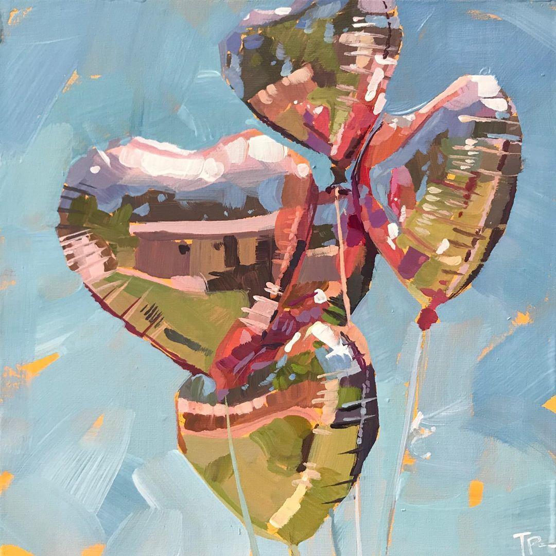 "Teddi Parker on Instagram ""Let Love Grow. 8x8in house"