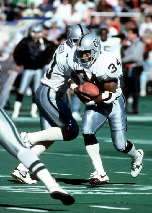 Bo Jackson Raiders Rb Oakland Raiders Football Raiders Football Raiders Players