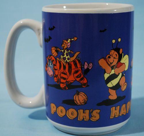 disney winnie the pooh halloween mug tigger piglet eeyore rabbit roo pooh