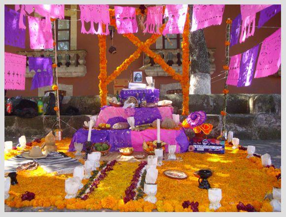 Pin de Edith Padilla en día de muertos | Altares de ...