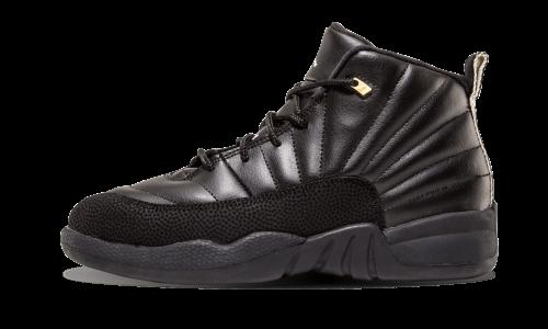 buy popular 9498c 3f691 Nike Kids Jordan 12 Retro BP Sneakers-3 US Little Kid, Size  3 US Little  Kid, Black