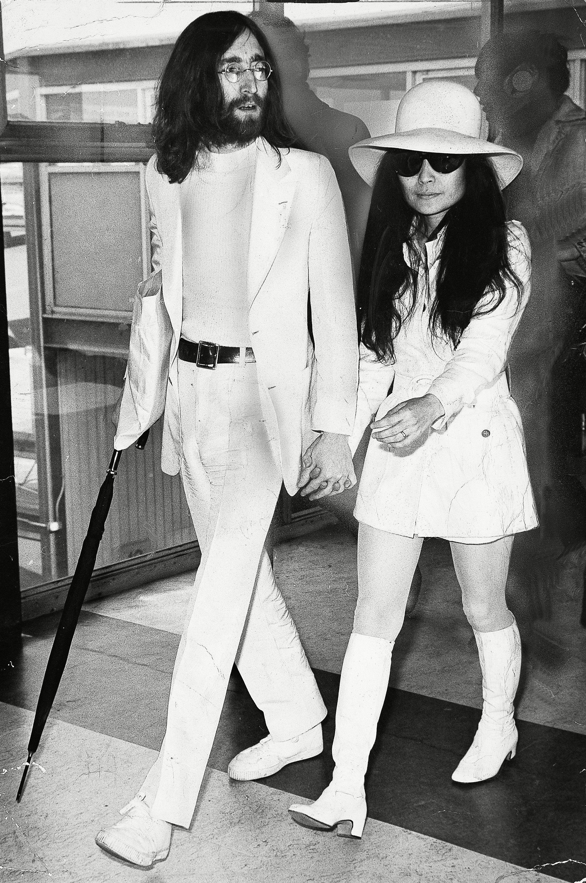 The Best Hairstyles For Long Hair Kim Kardashian West Gisele Bundchen And More John Lennon And Yoko Yoko Ono Yoko