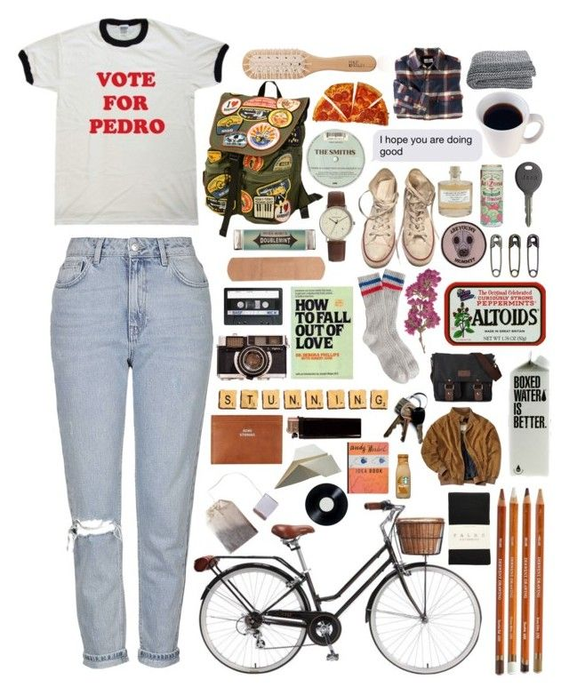 """Untitled #498"" by uniquelygemma ❤ liked on Polyvore featuring Miss Bibi, Simon Carter, She's So, Topshop, J.Crew, Converse, Library of Flowers, GAS Jeans, Acne Studios and Retrò"