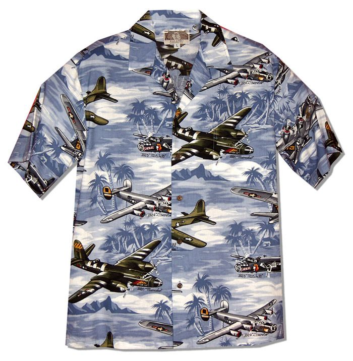 9fe171f2 Fighter Bomber Airplanes II Men's RJC Shirt created in Blue or Green.  Fighter Bombers Featured