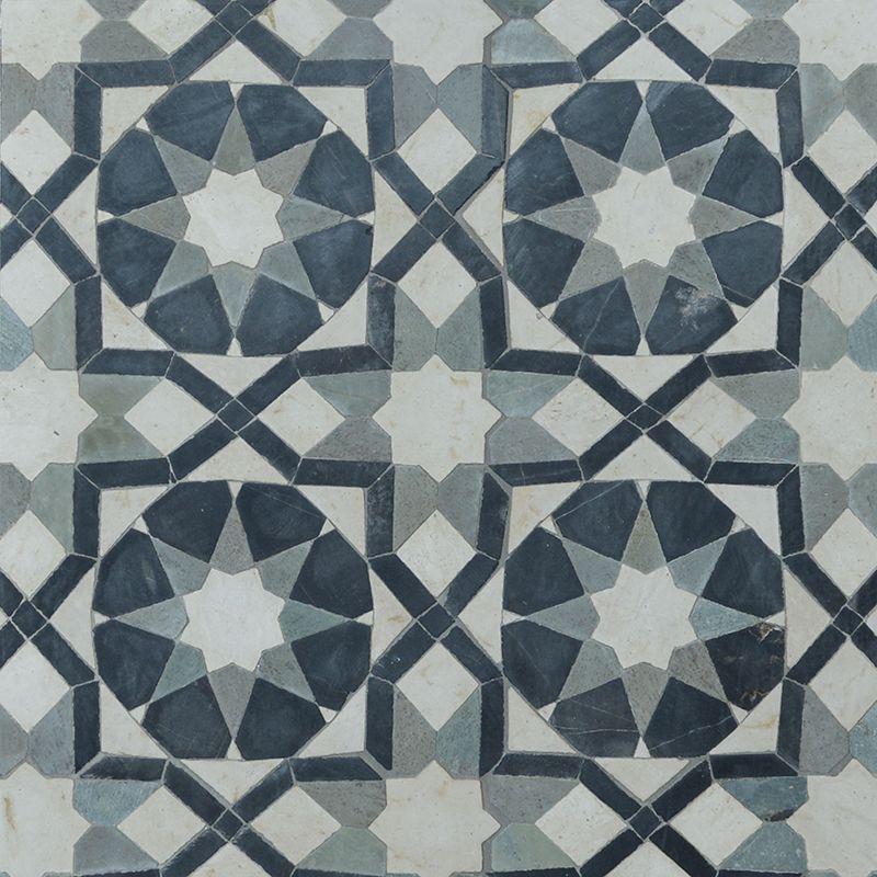 Farah Honed Limestone Mosaics 11x11 Country Floors Of America Llc Mosaic Limestone Mosaic Patterns