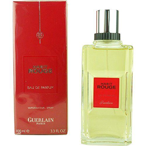 Habit Rouge By Guerlain Men Habit Rouge Eau De Parfum Spray 3 4 Oz Eau De Parfum Perfume Scent Fragrance