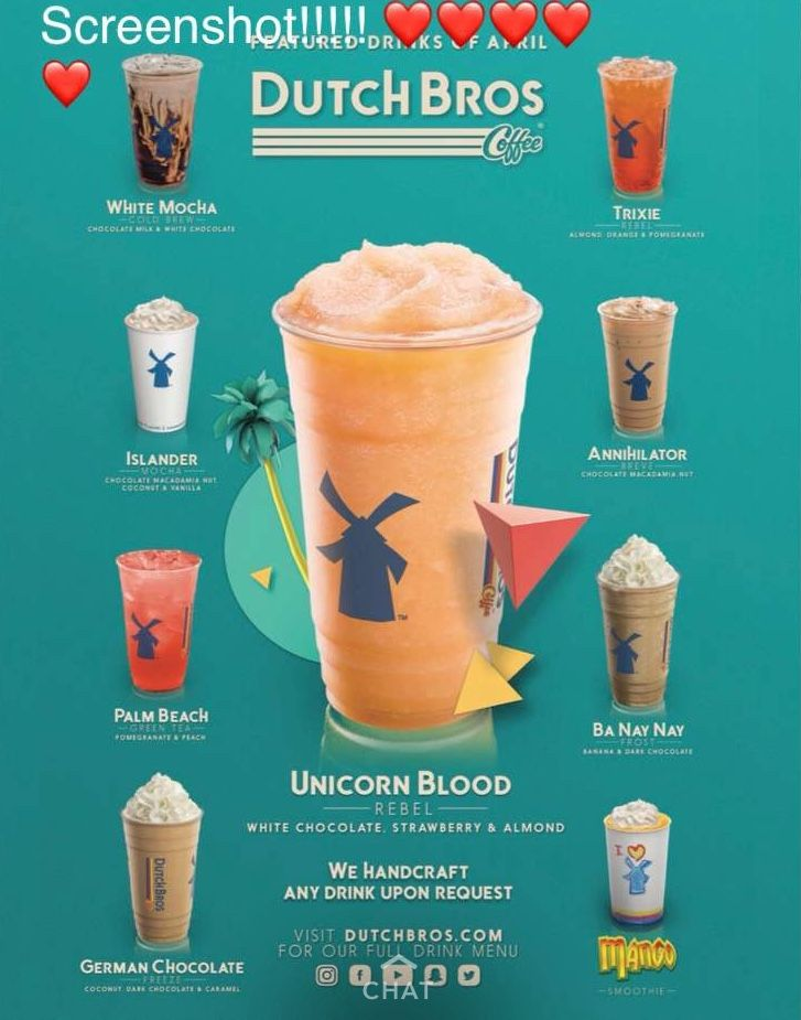 P I N T E R E S T Posted On Pinterest By Allyisaatud Dutch Bros Drinks Dutch Bros Dutch Bros Secret Menu