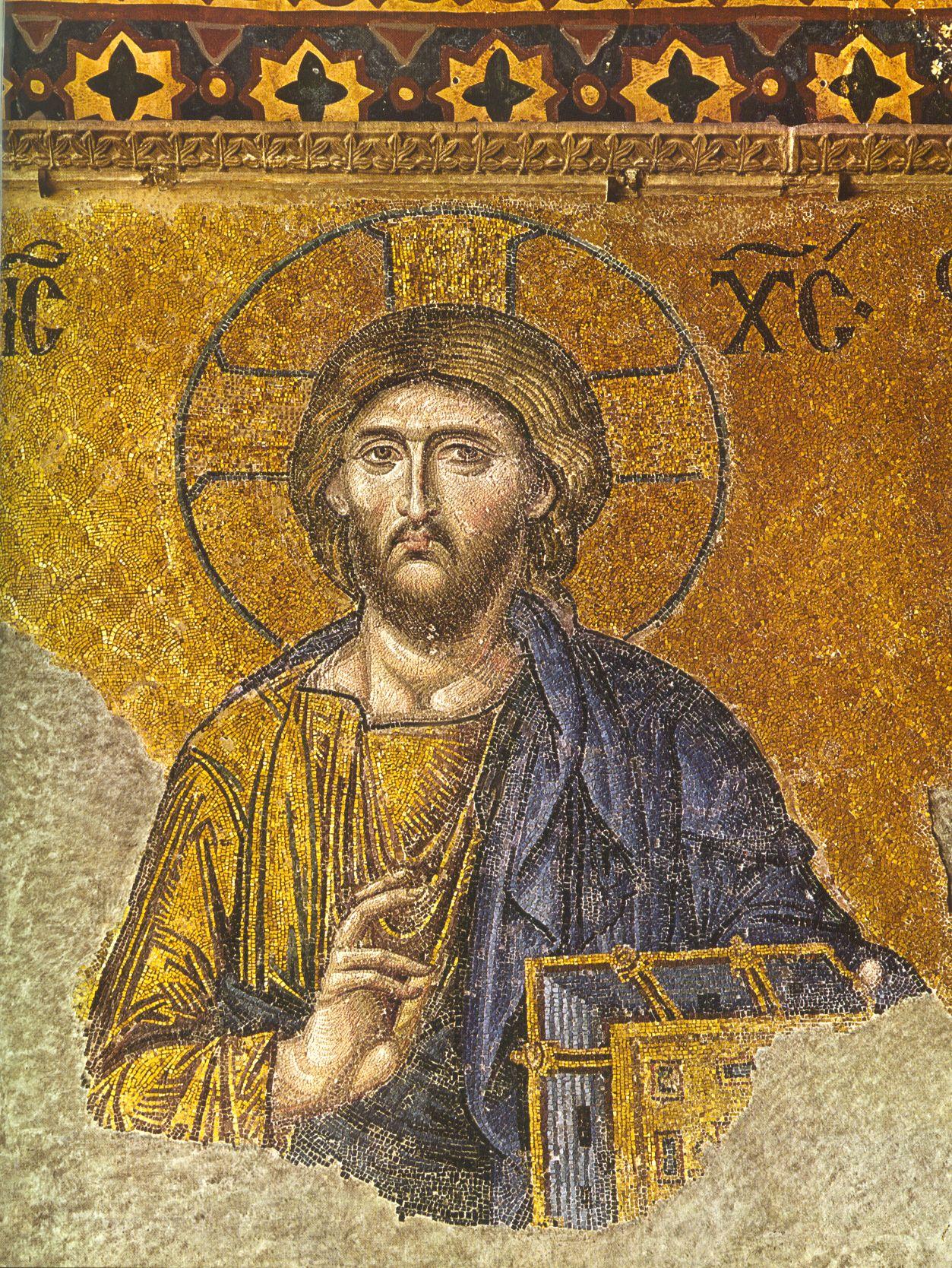 Chrystus Pantokrator - Hagia Sophia | Christian icons ...