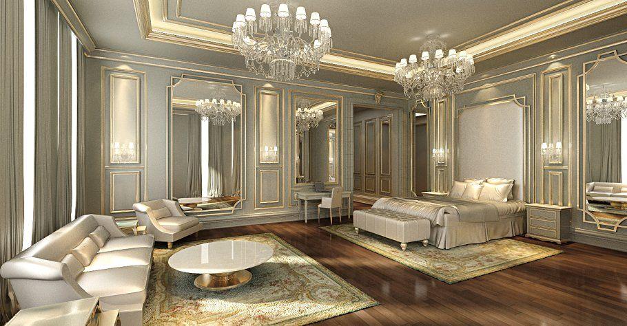 Beautiful Classical Bedroom 3ds Max Dengan Gambar Interior