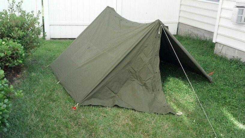 1950u0027s us army pup tent & 1950u0027s us army pup tent | VW bus | Pinterest | Pup Tents and ...