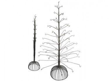 Medium Handmade Recycled Rustic Wire Seasonal Tree Sculpture -- i need this
