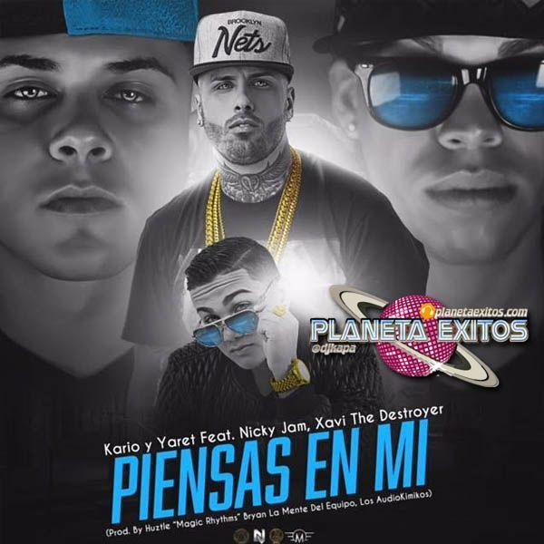 Kario Y Yaret Ft Nicky Jam Y Xavi The Destroyer Piensas En Mi Latin Music Mirrored Sunglasses Men Jam