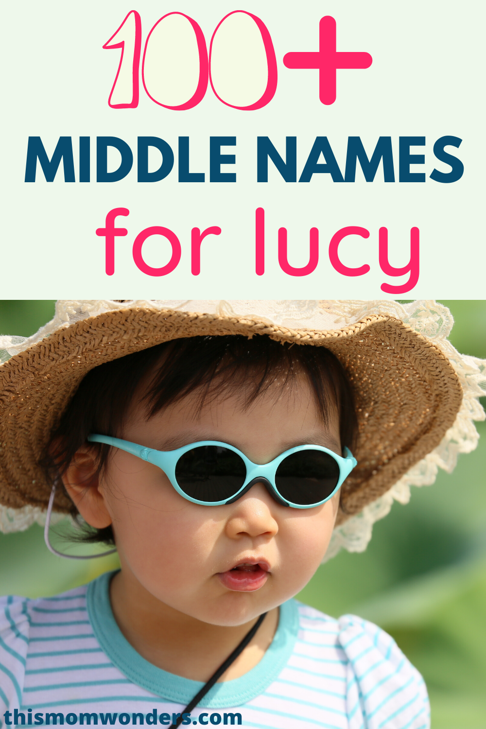 The Best Middle Names For Lucy Baby Girl Names Best Girl Names Cute Baby Girl Names