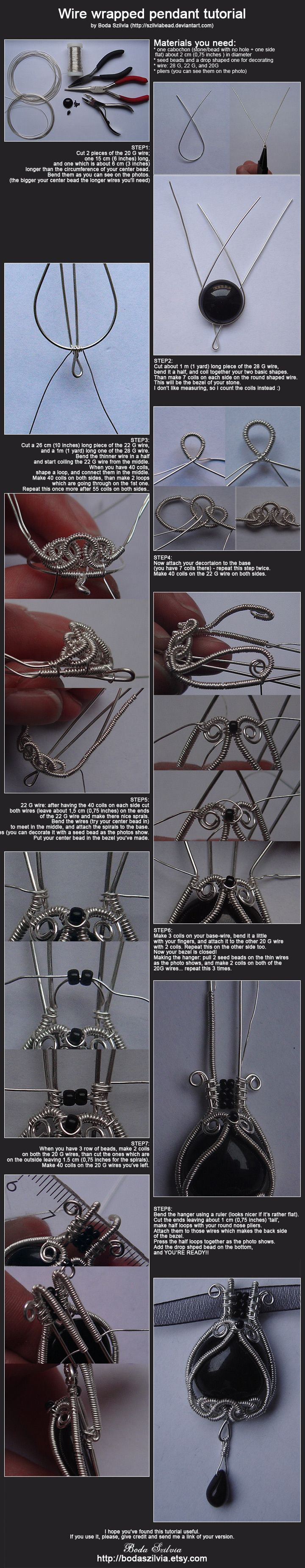 Lady Luck Ring, a Free Wire Jewelry Pattern by Brenda Sigafoos for ...