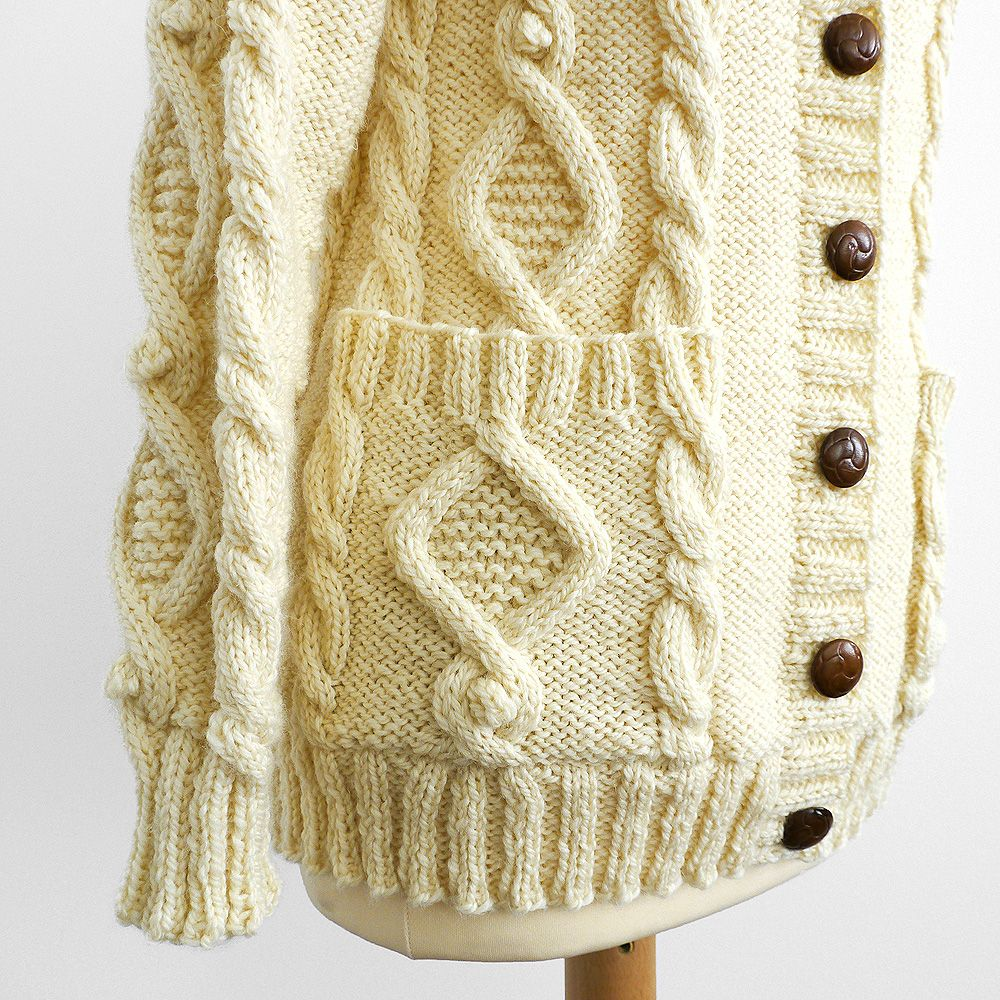 A new method of knitting a tidy and strong buttonhole scroll down cotton cloud cable aran cardigan pattern on simply knitting magazine issue 87 bankloansurffo Choice Image
