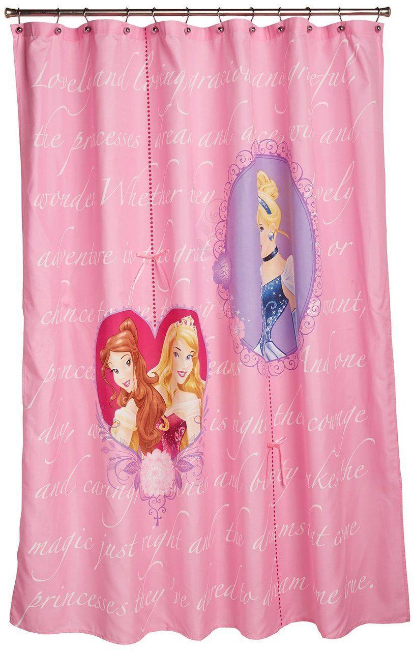 Disney S Princess Timeless Elegance Shower Curtain Kidswhs Com