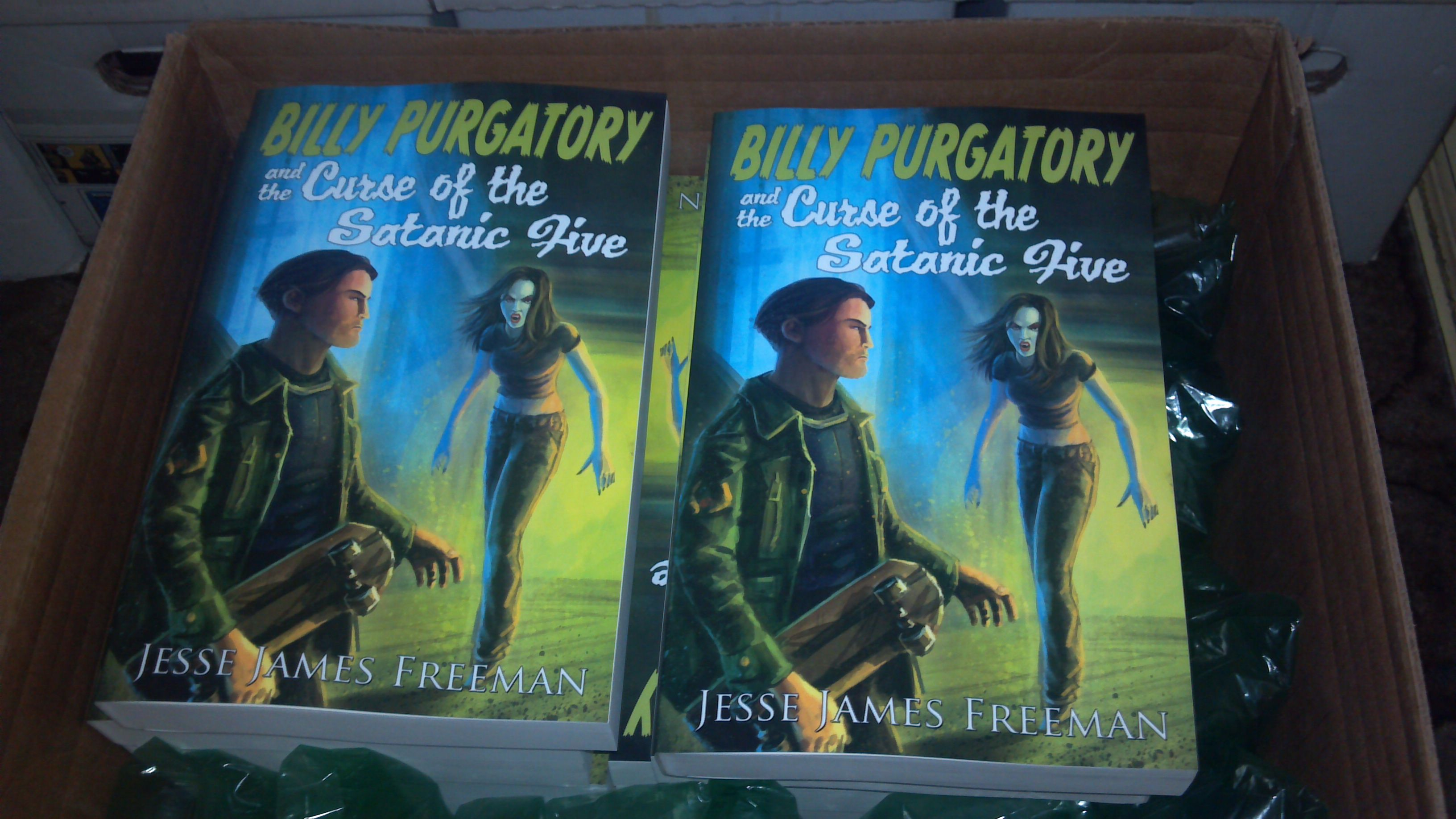 Box of Billy Purgatory and the Curse of the Satanic Five
