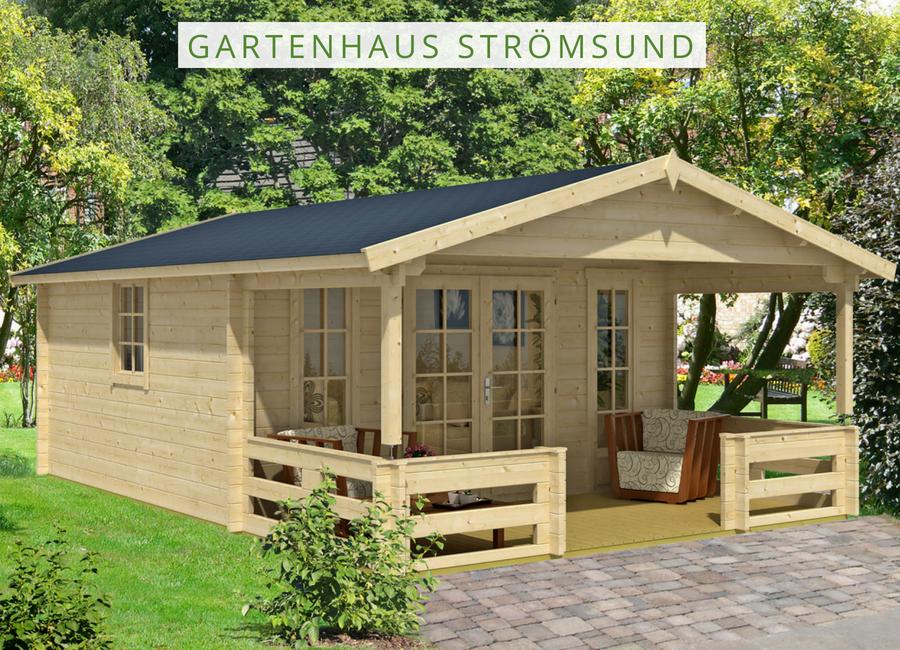 Alpholz Gartenhaus Strömsund ISO Gartenhaus, Haus und
