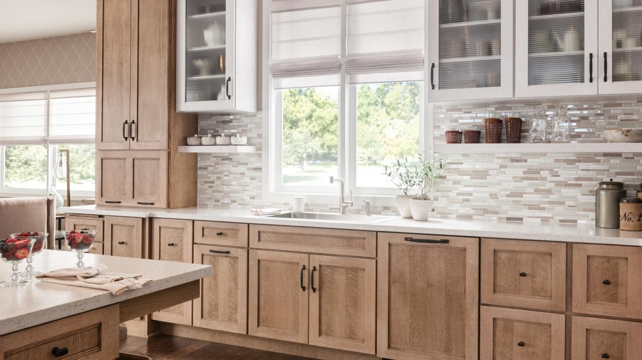 Schuler Cabinetry Kitchen Renovation Kitchen Remodel Stained Kitchen Cabinets