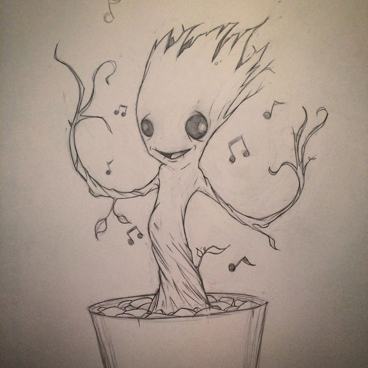 baby groot drawing google search shows movies pinterest baby groot drawings and. Black Bedroom Furniture Sets. Home Design Ideas