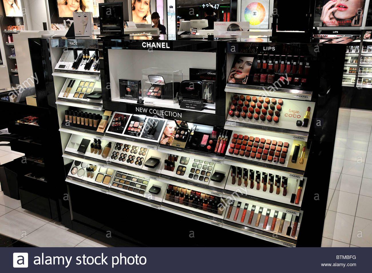 Chanel Cosmetics Duty Free Shop Narita Airport Japan Btmbfg Jpg 1300 953 Chanel Cosmetics Stock Photos Cosmetic Shop