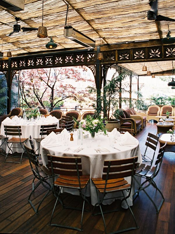 Rooftop Wedding At The High Line Carolyn Vincent Pinterest