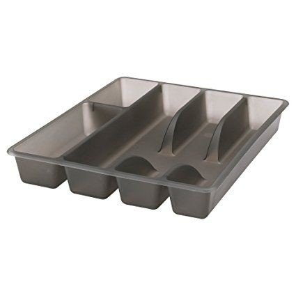 IKEA Rationell Variera Cutlery Tray 31 x 26 cm Drawer Insert Grey