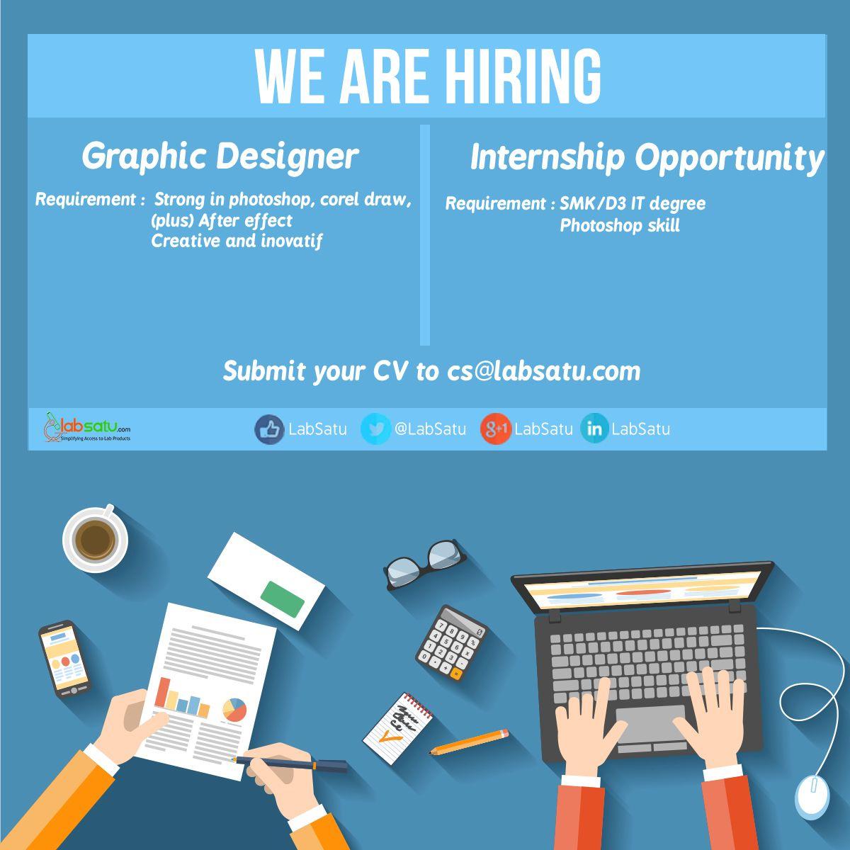 Info Lowongan Kerja Dicari Graphic Designer Internship Opportunity Programmer Web Designer Share Ke Sahabat Terdekatmu Ya Siapa T Tahu Sahabat