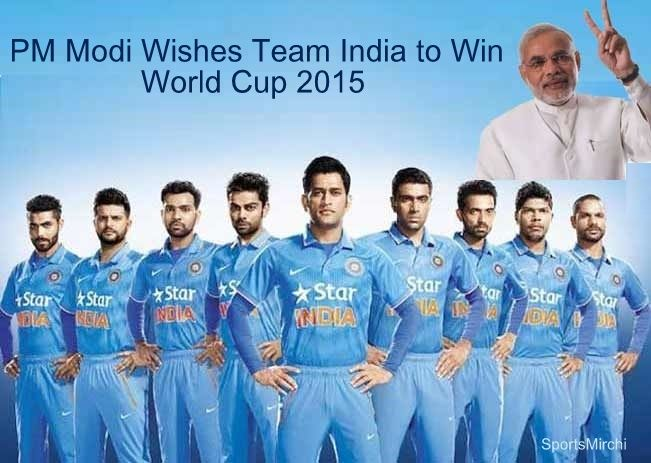Pm Modi Wishes Team India Best Of Luck For World Cup On Twitter Cricket World Cup Cricket Teams Cricket T Shirt