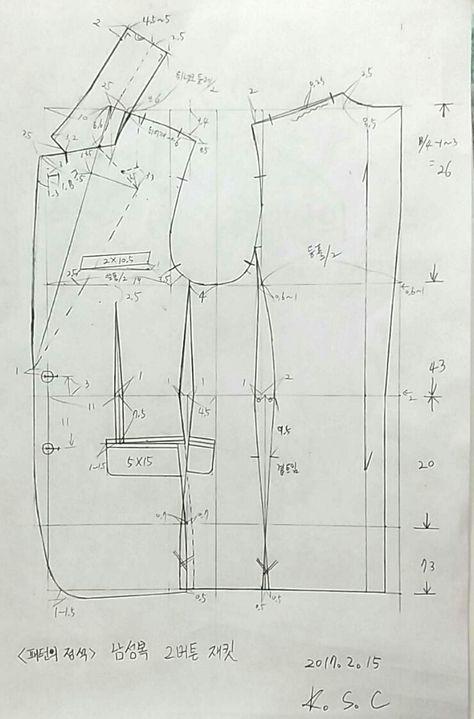 0번째 이미지 | FASHION TECH | Pinterest | Costura, Moldes y Sacos