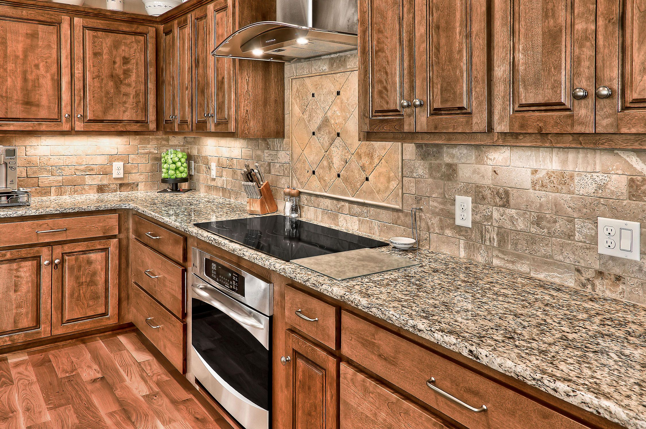 Kitchen by brentwood homes shadow lake omaha ne
