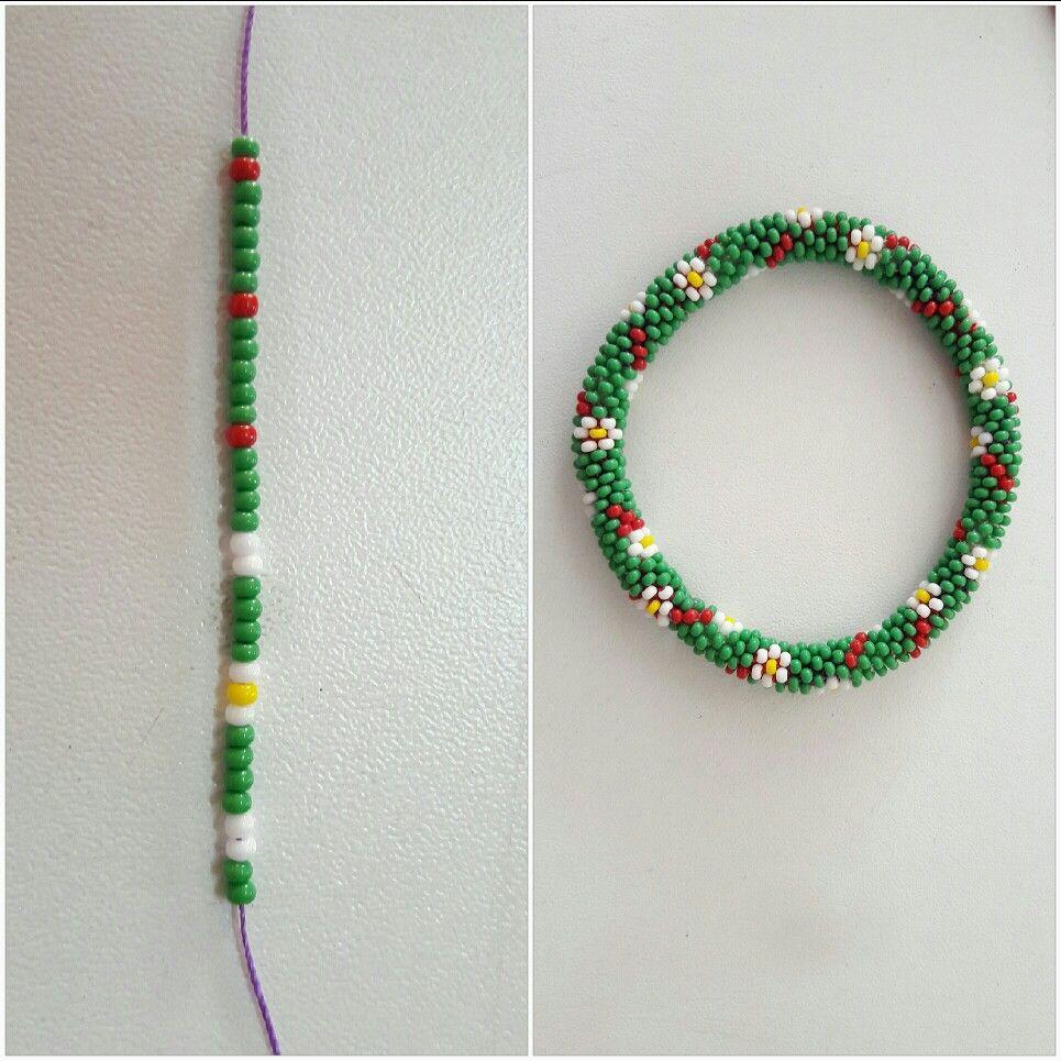 zeynepatalay.Kum boncuk bileklik 6\'lı.   Crochet   Pinterest ...