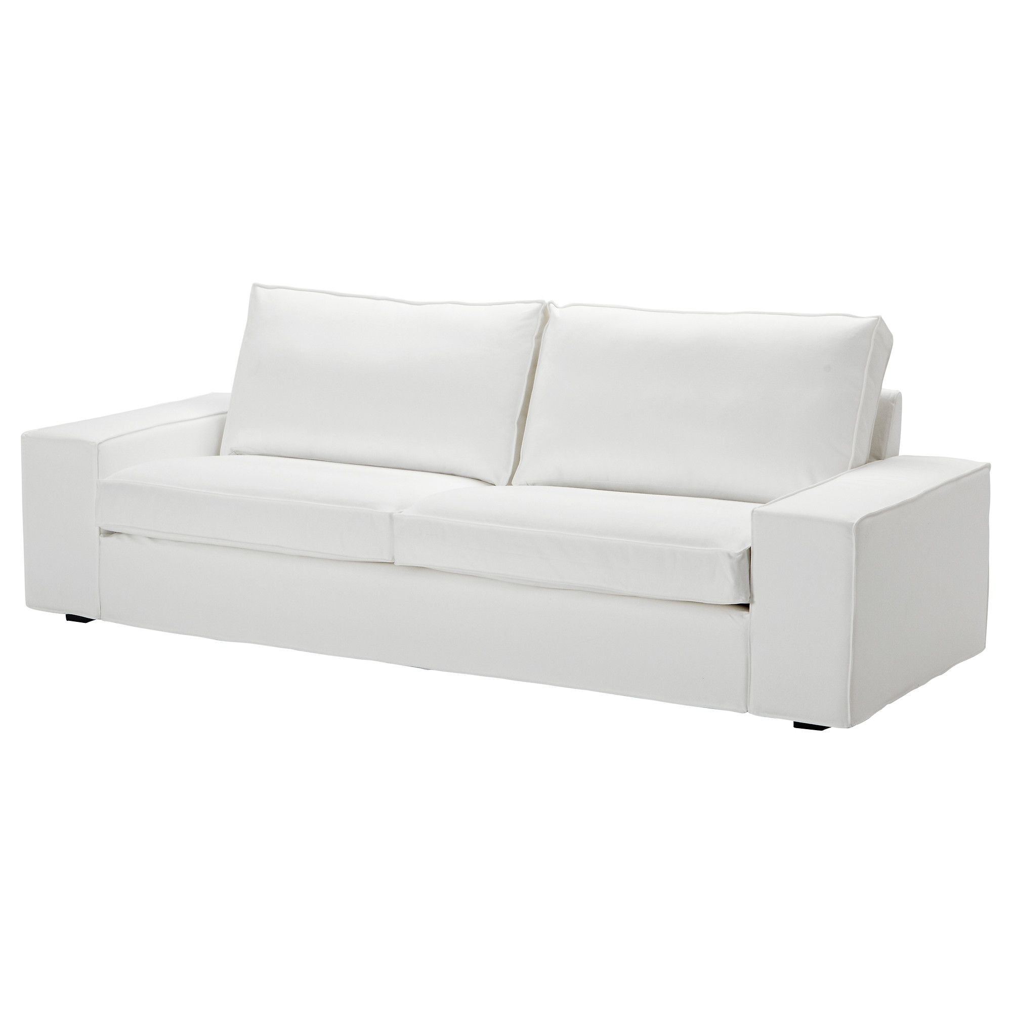 Merveilleux KIVIK Sofa   Blekinge White   IKEA White Canvas Slipcover Sofa Offer (price  Includes Slipcover). Not As Glamorous But Just An Option If Budget Needed  To Be ...