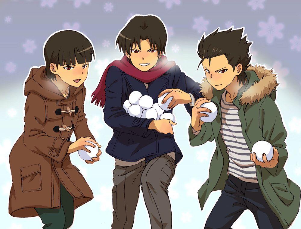 Furuya triplets Ginga e kickoff!! Pinterest Triplets