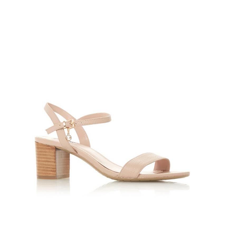 a4b6e728717 JIGGLE - Block Heel Sandal - nude