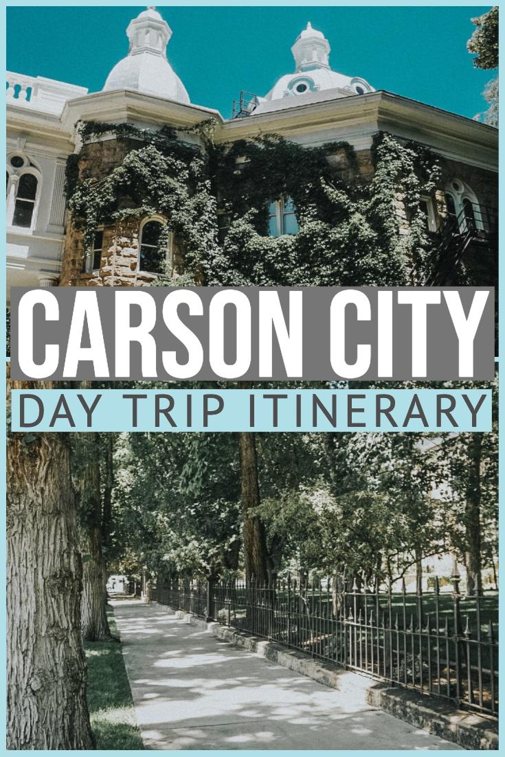 Day Trip to Carson City, Nevada - Palm Trees & Pel
