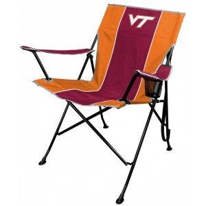 Virginia Tech Hokies High-Back TLG8 Chair from TailgateGiant.com
