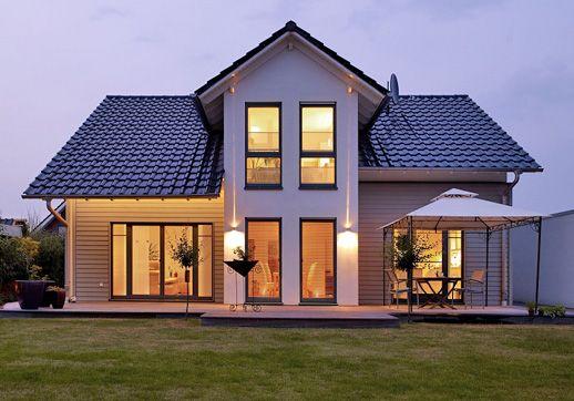 einfamilienhaus bergheim ein fertighaus von gussek haus h user pinterest. Black Bedroom Furniture Sets. Home Design Ideas