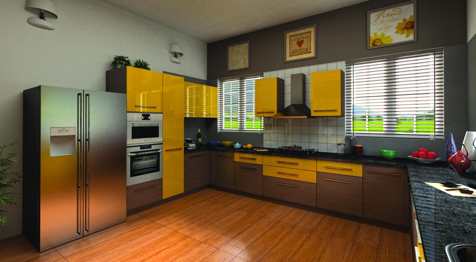 Modular Kitchen Design Service #Ahmedabad | Kitchen design ...
