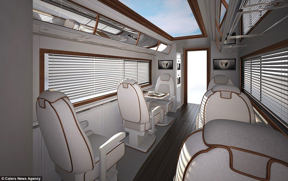 Worldu0027s Most Expensive Motorhome Goes On Sale For £2m And Comes Complete  With Cocktail Bar And Roof Terrace