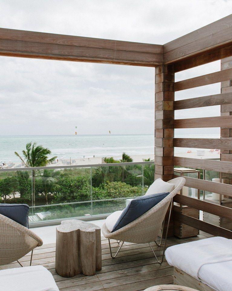1 Hotel South Beach, Miami Beach, Florida, USA