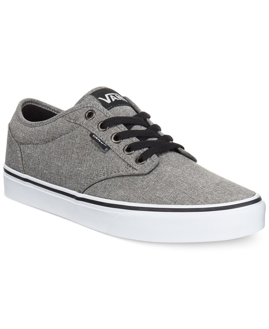 21d38a576620a4 Vans Men s Atwood Heathered Sneakers