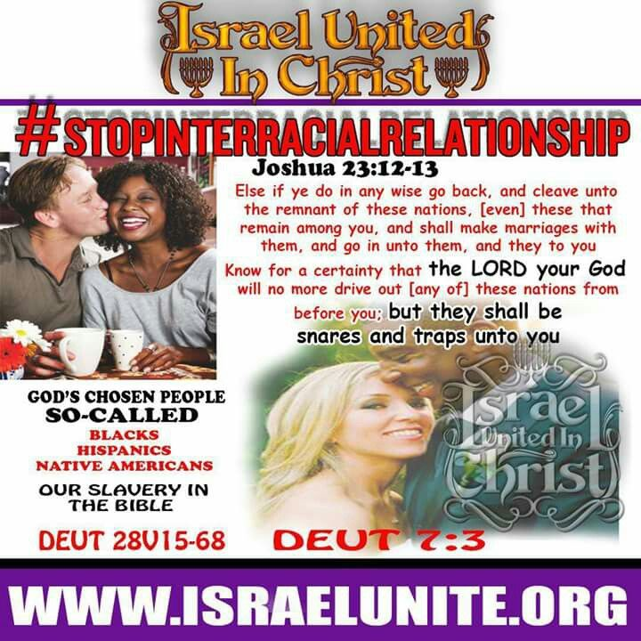 Bible about interracial marriage