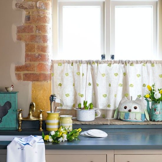 country kitchen decorating ideas for summer more kitchen window - Kitchen Window Decorating Ideas