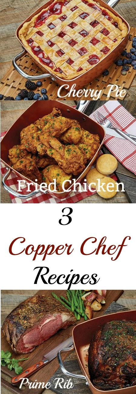 3 Copper Chef Recipes My Honeys Place Recipe Chef Recipes Copper Chef Cooking Venison Steaks