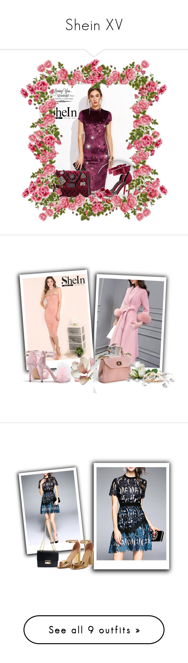 """""""Shein XV"""" by azra-90 ❤ liked on Polyvore featuring GALA, WALL, New Look, Abercrombie & Fitch, Arche, 8 Other Reasons, Dansk, Citizens of Humanity, Christian Louboutin and Givenchy"""