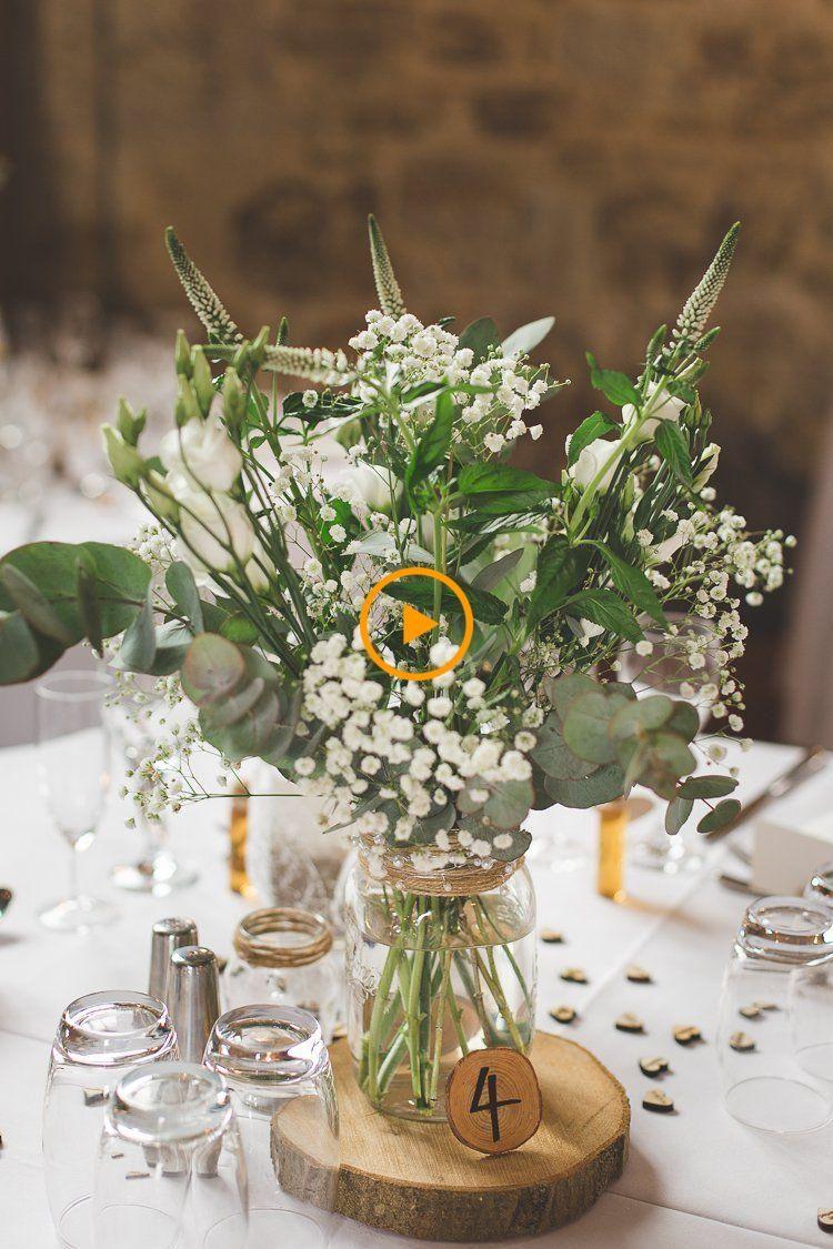 Jar Fleurs Centre De Table Table Journal Verdure Feuillage