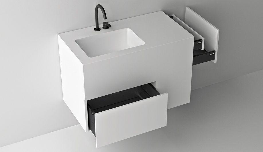 Vasche Da Bagno Boffi Prezzi : Boffi bagno composizione quadtwo design: jeffrey bernett anno