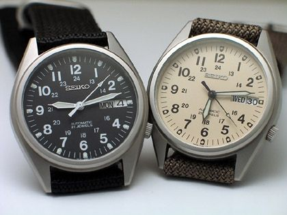 Seiko Field Watch Field Watches Military Style Watches Seiko Automatic Watches